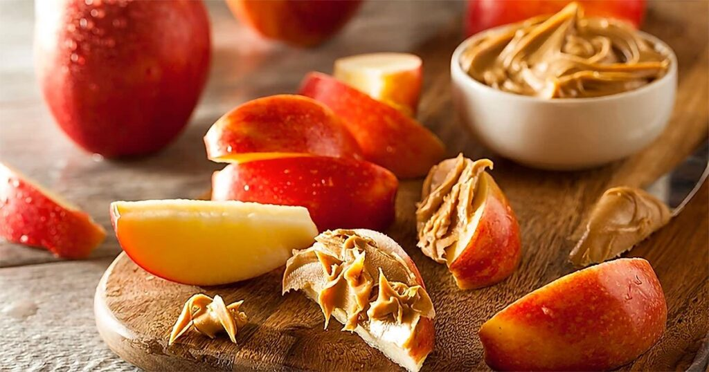 Healthy Appetizers - Apple Snack Wedges