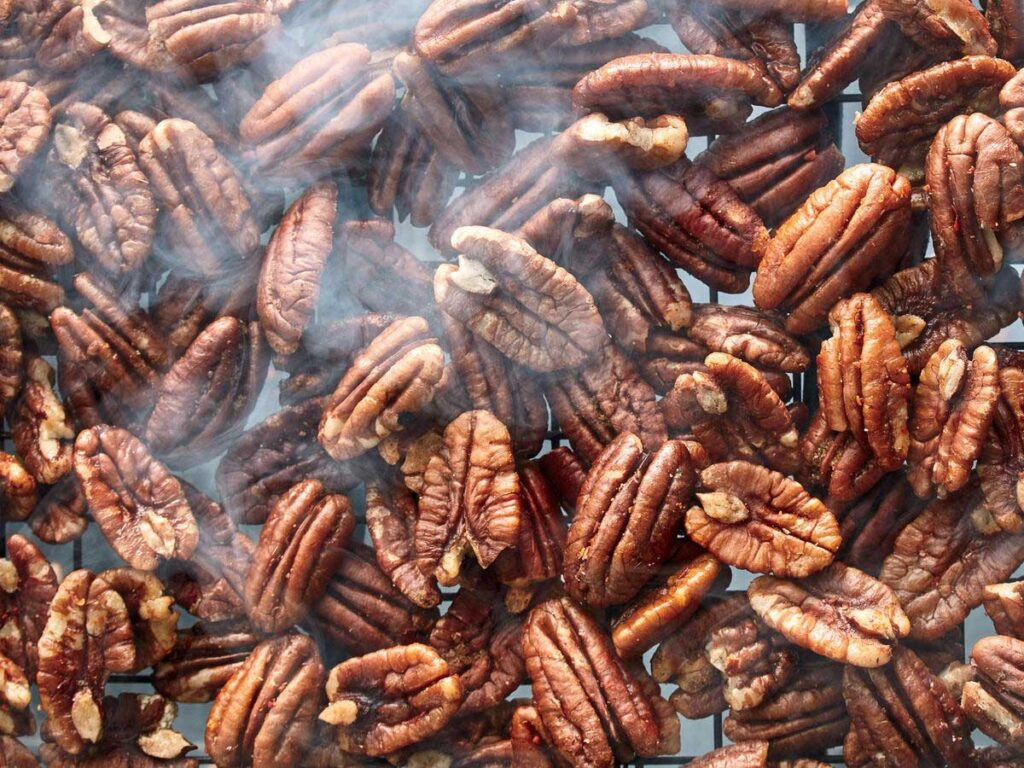 Healthy Appetizers - Smoked Pecans